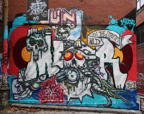 Meor in a central Montreal alley