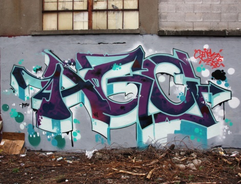 Art Gang's Senck in Côte des Neiges