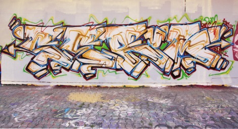 Serum at the PSC legal graffiti wall