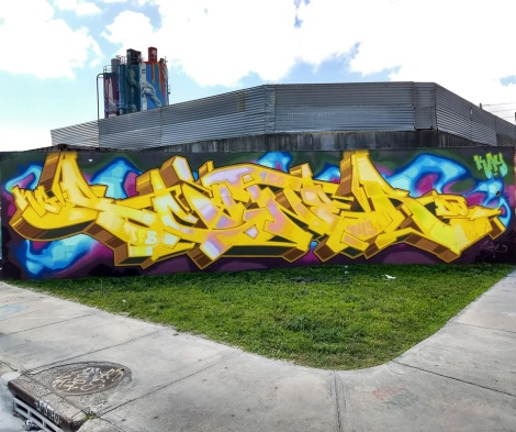 tribute to Scaner by Stare, in Miami
