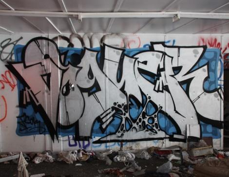 Voguer at the abandoned Montreal Hippodrome