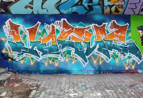 Vogue at the PSC legal graffiti wall