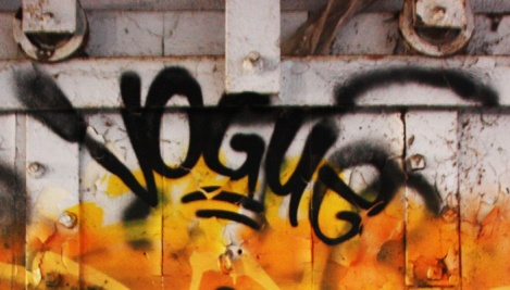 tag by Vogue at the abandoned Montreal Hippodrome