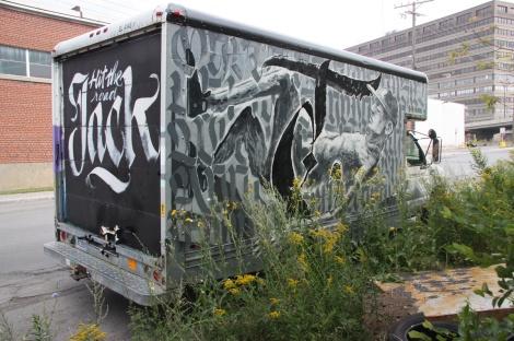 Bonar, Fonki and les Hommes de Lettres on truck side