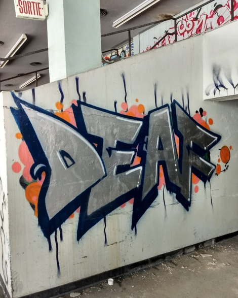Deaf at the Montreal Hippodrome's abandoned main building