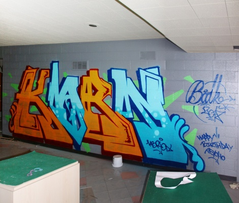 Kbron at the Montreal Hippodrome's abandoned main building