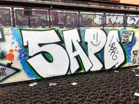 Sapoe at the Montreal Hippodrome's abandon