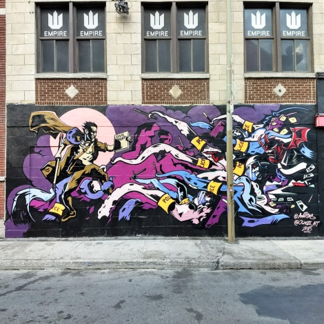 Collaboration between Ankh One and Osmoze for the 2018 edition of Under Pressure