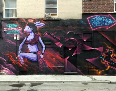Segment 1/5 of a Under Pressure 2018 wall featuring Haks, Capes, Nemo, Lapin and Vedas