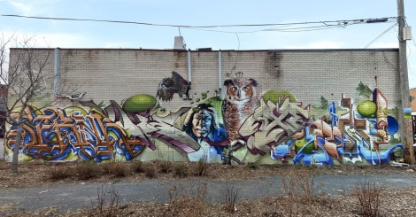 Serak, Awie, Arpi, Axe and Monk.e collective K6A crew all in St-Henri