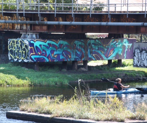 Serak on Lachine Canal