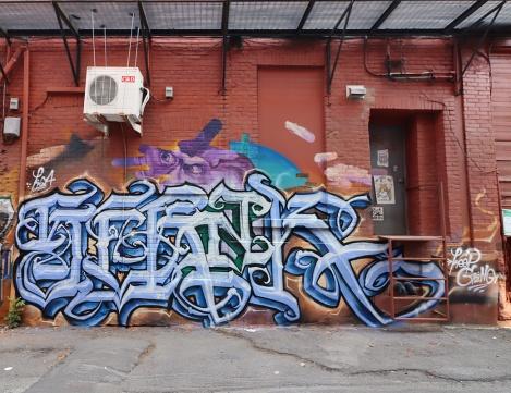 Mile End alley piece by Serak