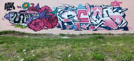 123Klan's Scien (letters) and Aiik (figurative) in Rosemont