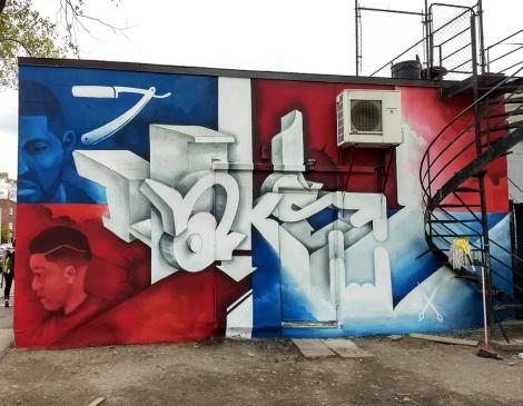 Haks wall in Petite-Patrie