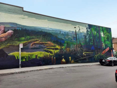Case Maclaim mural in St-Henri