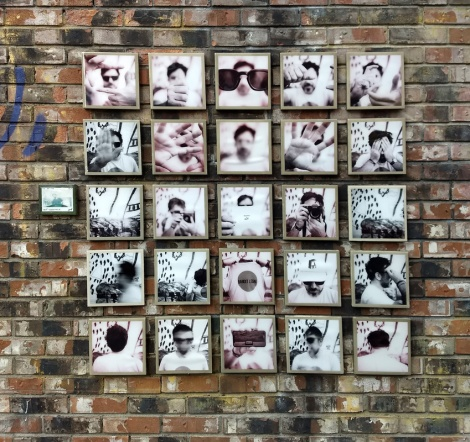 installation by Josef Helie in Mile End