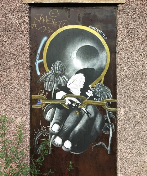 wheatpaste by Nether410 in Petite-Patrie
