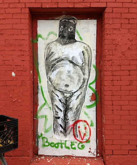 wheatpaste by Peau in the Plateau