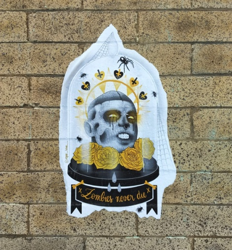 paste-up by Rope Love in the Plateau