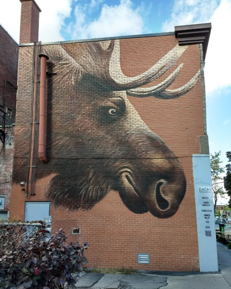 Ruben Carraco mural in Villeray