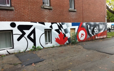 segment of a long wall by Benny Wilding in Rosemont