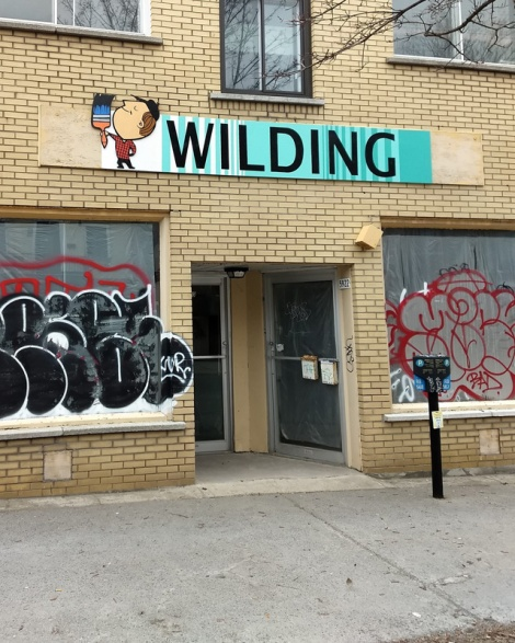 fake sign by Benny Wilding in Petite-Patrie