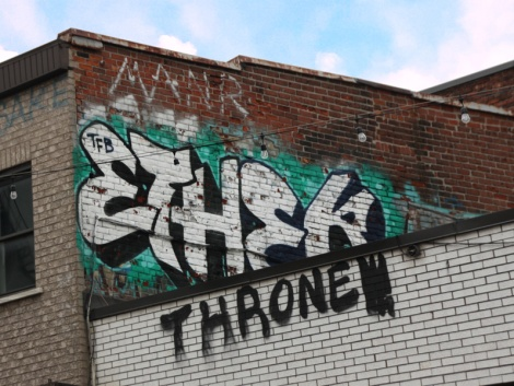 rooftop piece by Ether
