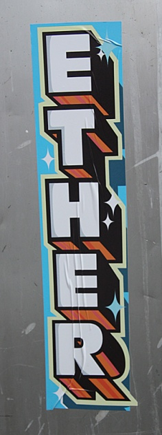 Ether sticker