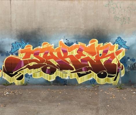 Jaker in a Hochelaga alley