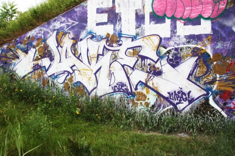 Jaker at the Papineau legal graffiti wall