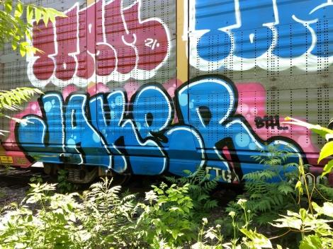 train piece by Jaker