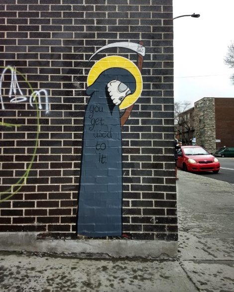 wheatpaste by Lost Claws in Petite-Patrie