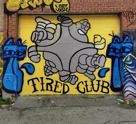 alley garage door by Germ Dee