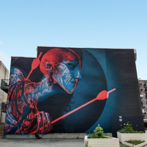Insane51's contribution to the 2019 edition of Mural Festival
