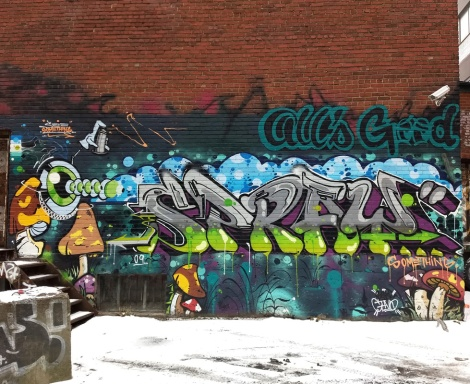 The AG Crew's Senck in Mile End