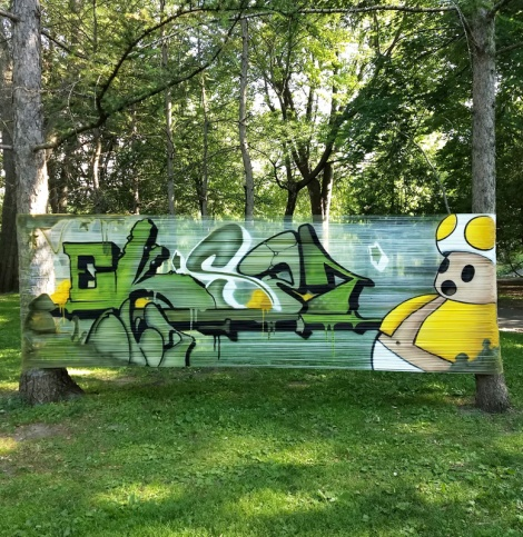 EK Sept cellograff in Parc Lafontaine