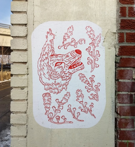 Eli Howey paste-up