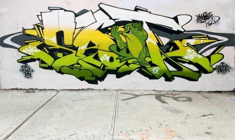 Esprit at the Rouen legal graffiti wall