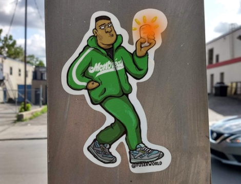 sticker by Fuser