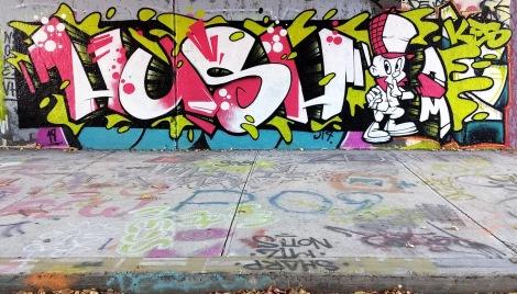 Hush? at the Rouen legal graffiti wall