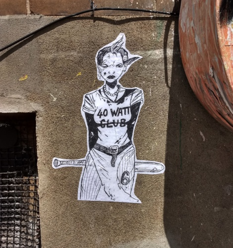 paste-up by Know Self