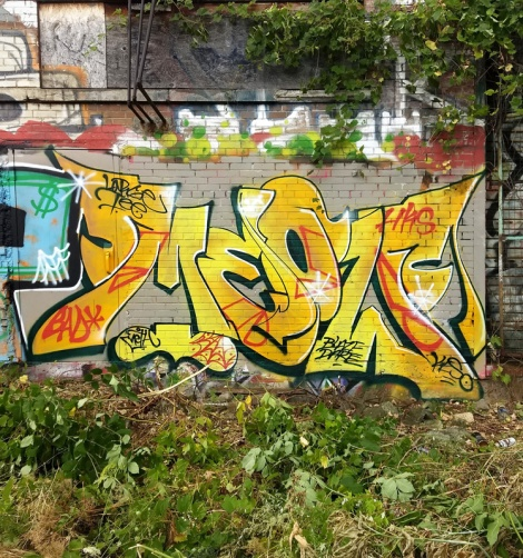 trackside piece by Meow