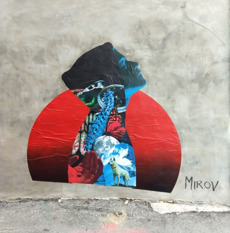 wheatpaste by Mirov