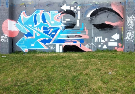 Mise2 at the Lachine legal graffiti wall