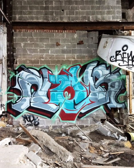 Nor in an abandoned building in Rosemont
