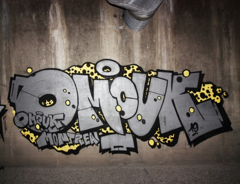 Omouk in an abandoned tunnel