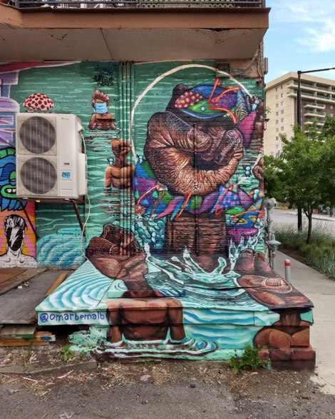 Omar Bernal and Aldarwin collaboration in Hochelaga