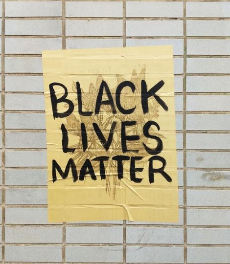 Black Lives Matter poster by Maya Cardin