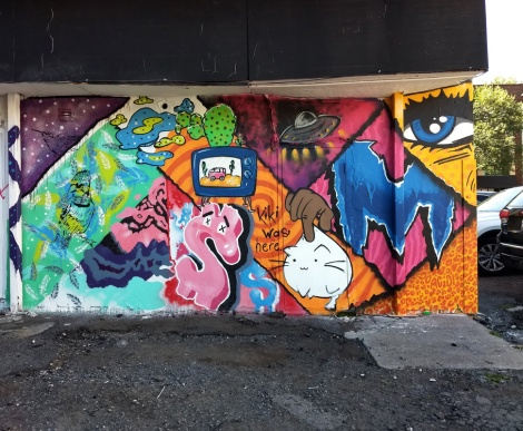 Collaboration of Denial, Mort, Jamie Janx and Kiki as a bonus to the 2020 edition of Mural Festival
