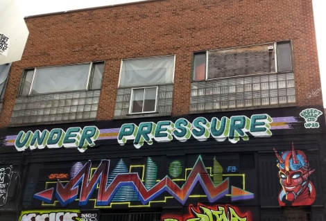 Head piece of the 2020 edition of Under Pressure by Hoar and EK Sept, over piece by Malin and Jest